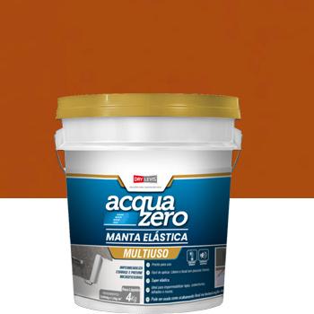 Manta Elástica Impermeabilizante Acrílica Acquazero 4kg Cerâmica