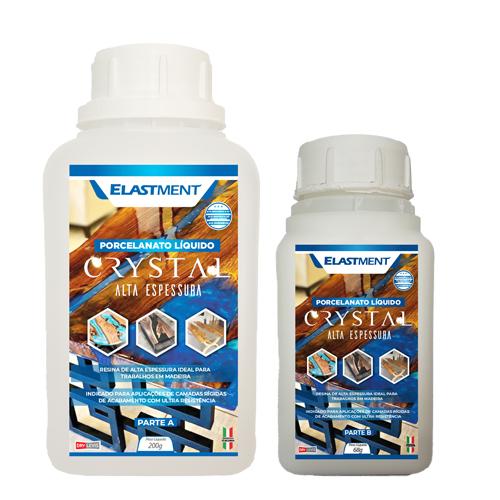 Resina Epóxi Crystal Alta Espessura C/ Endurecedor Kit 536G