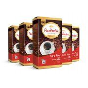 Kit com 5 Pacotes de Café Pacaembu Forte Vácuo 500G