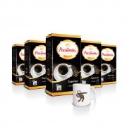 Kit com 5 Pacotes de Café Pacaembu Superior 500G e ganhe 1 caneca
