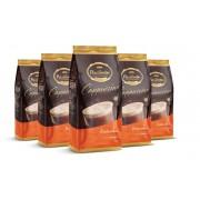 Kit com 5 Pacotes de Cappuccino Tradicional Pacaembu 1kg