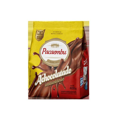 Achocolatado Pacaembu Tradicional 400 Gramas