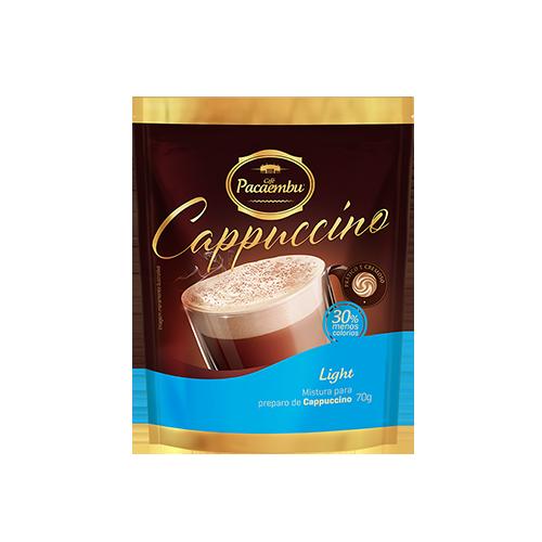 Cappuccino Light  Pacaembu Sachê 70 Gramas