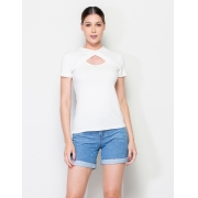 BLUSA DECOTE TRANSPASSE VISCO