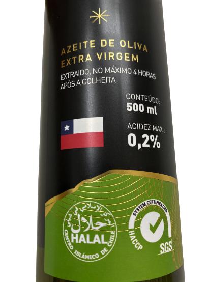 Azeite de Oliva Cruz del Sur extra virgem 500ml