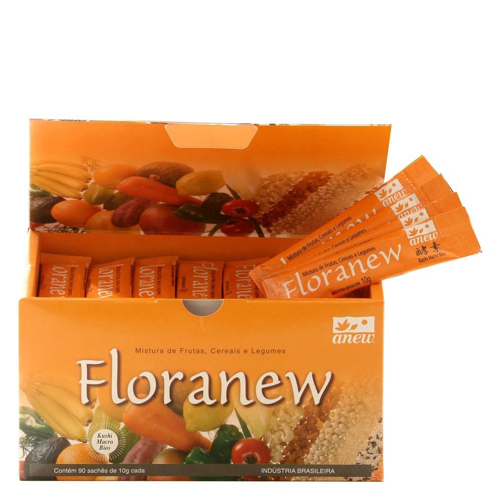 Floranew Caixa 90 sachês de 10g