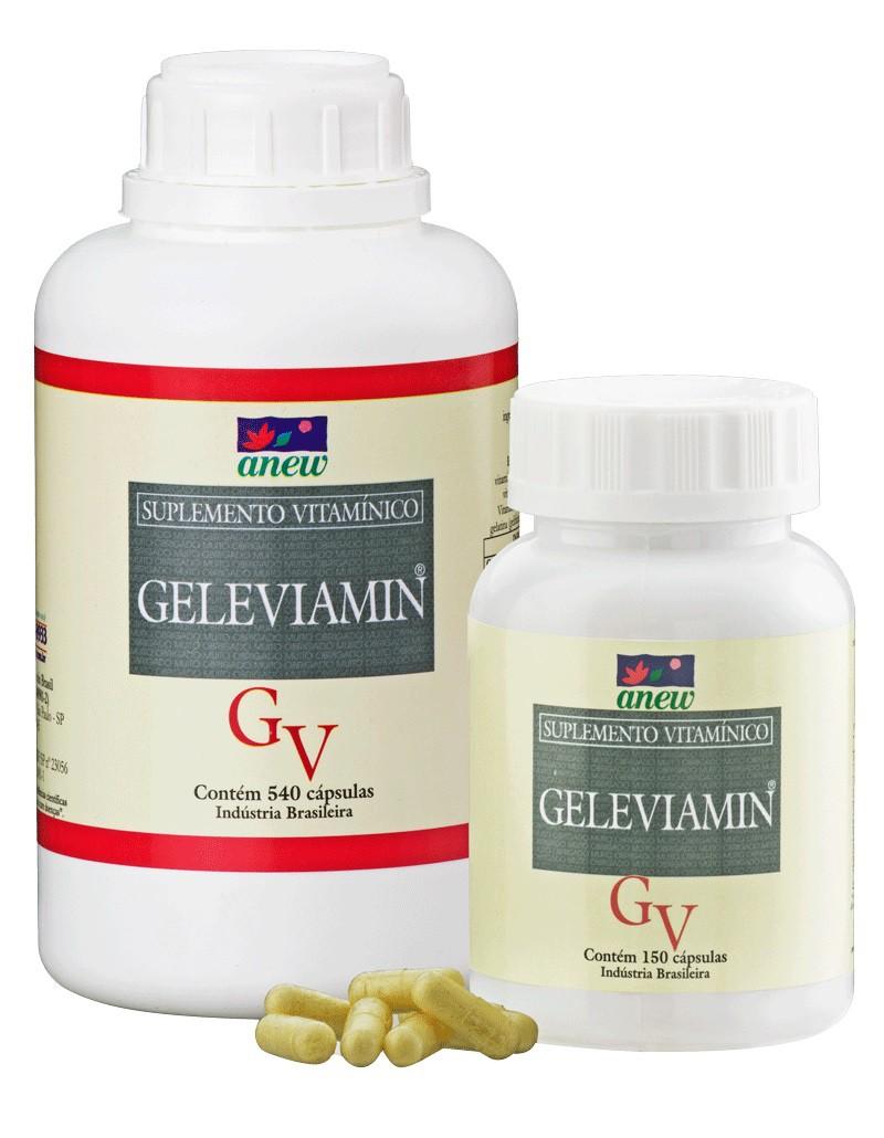 Geleviamin Geleia Real Anew 300 cáps