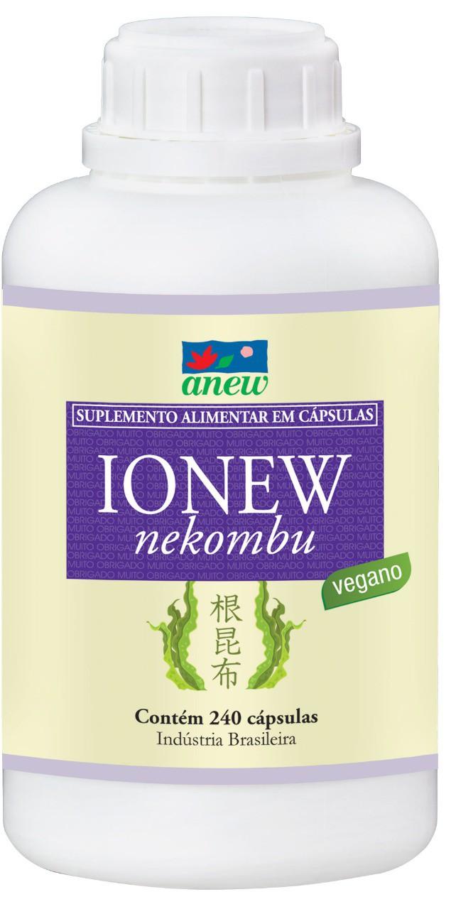 Ionew  (iodo, zinco e selênio) 240 cáps