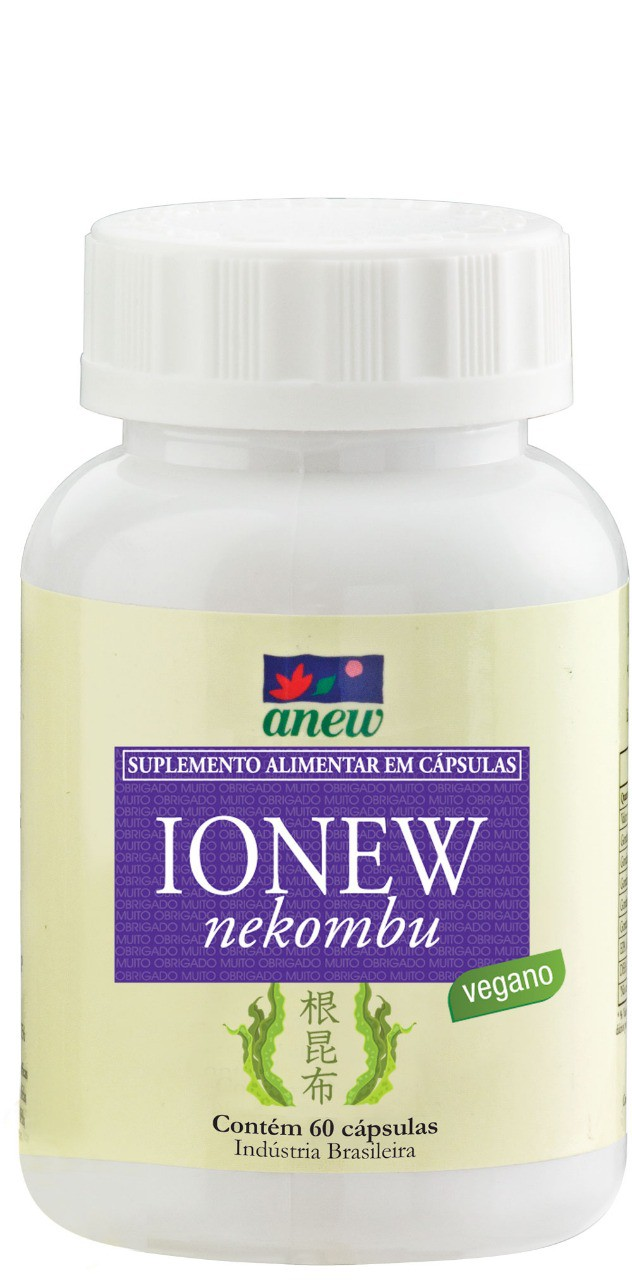 Ionew  (iodo, zinco e selênio) 60 cáps