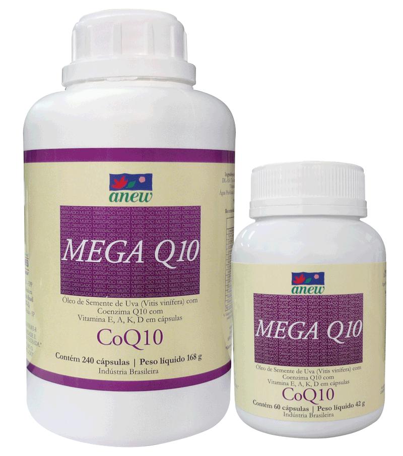 Mega Q10 Anew (coenzima CoQ10) 60 cáps