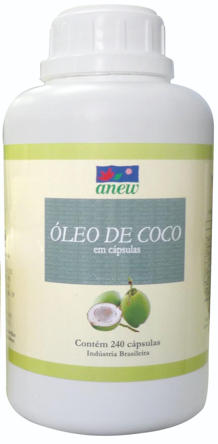 Óleo de Côco Anew 240 cáps
