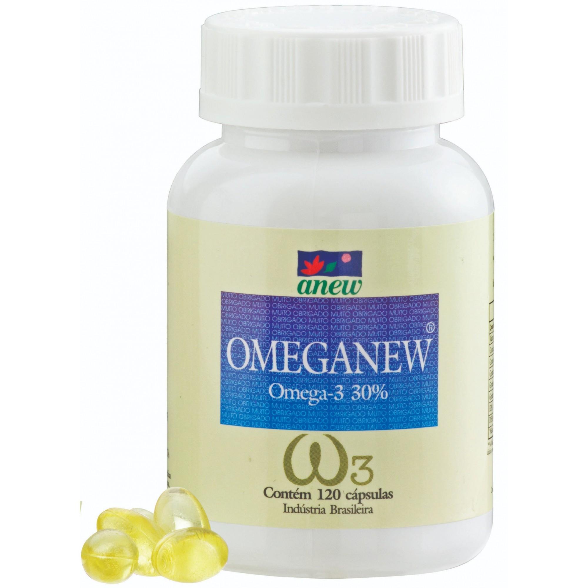 Omeganew - Ômega 3 Anew 120 cáps