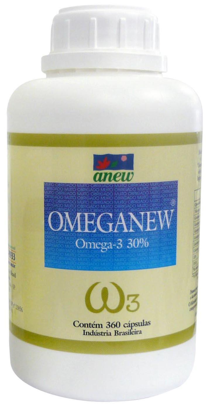 Omeganew - Ômega 3 Anew 360 cáps