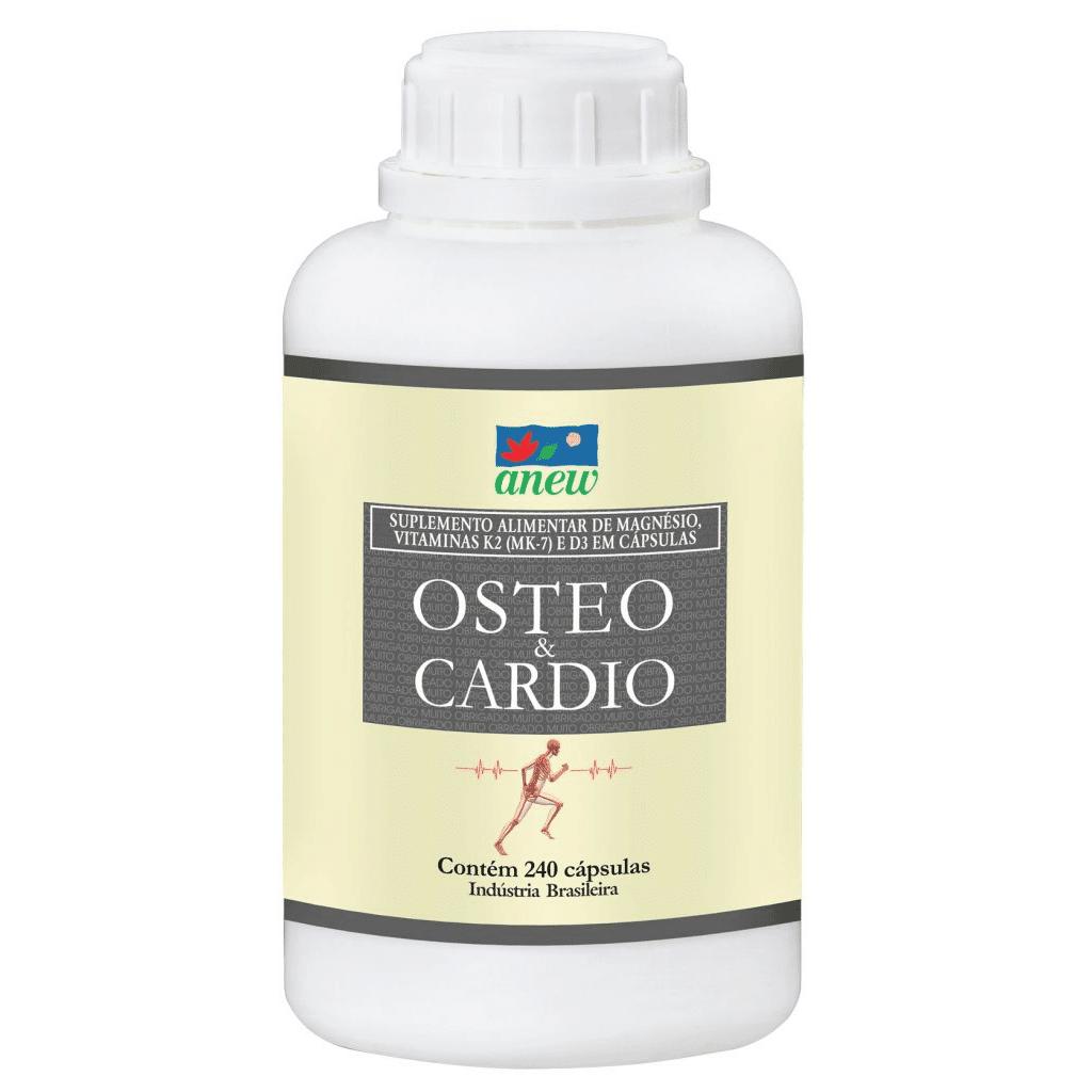 Osteo & Cardio Magnésio Quelato 240 cáps