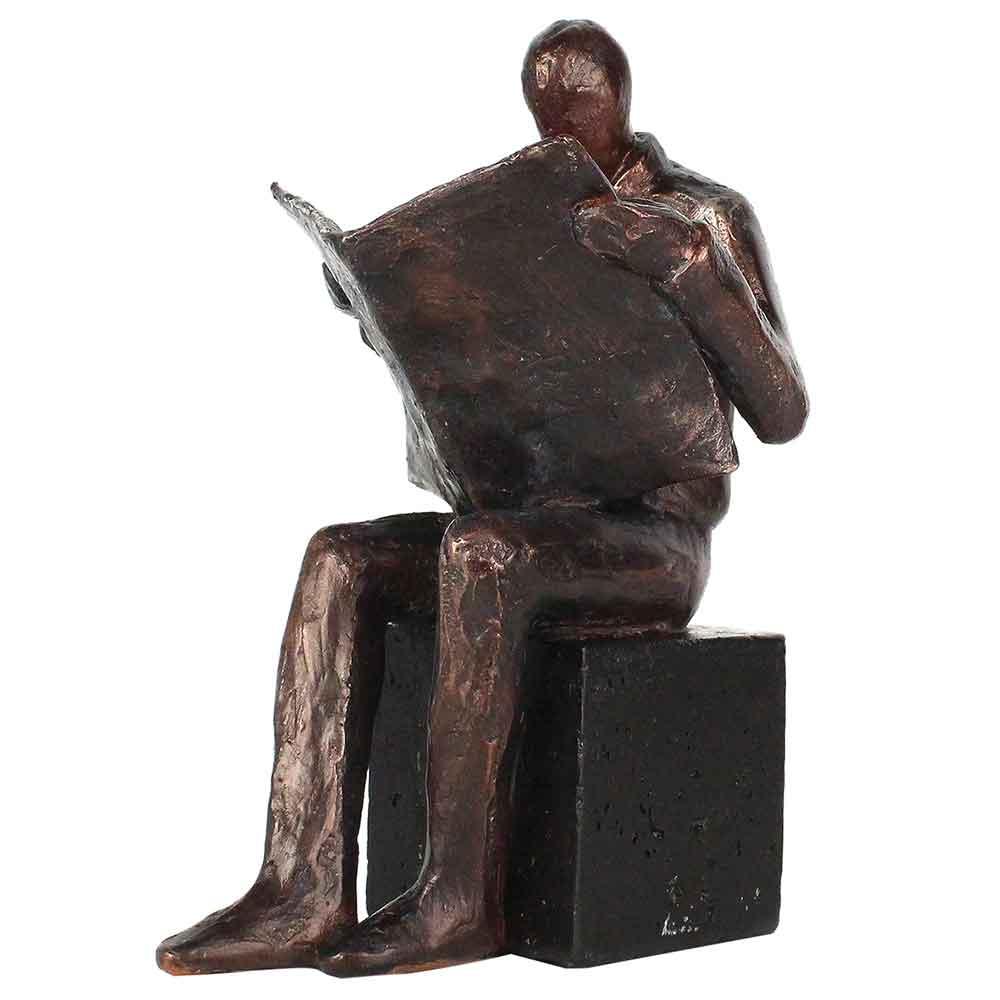 Estatueta Leitor Bronze