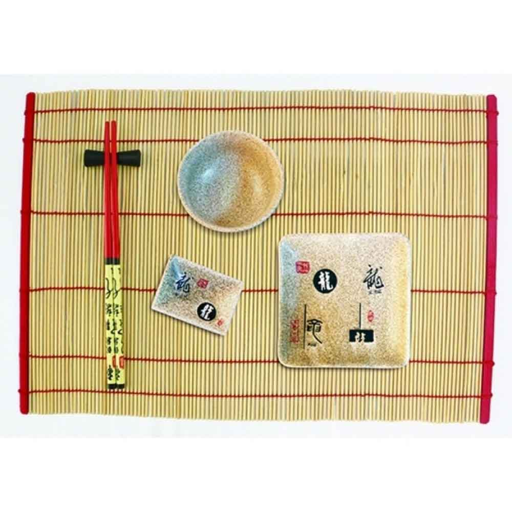 Kit para Comida Japonesa 4 Peças para 2 Pessoas