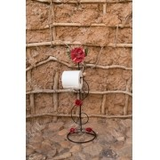 Porta papel higienico de pia rustico artesanal