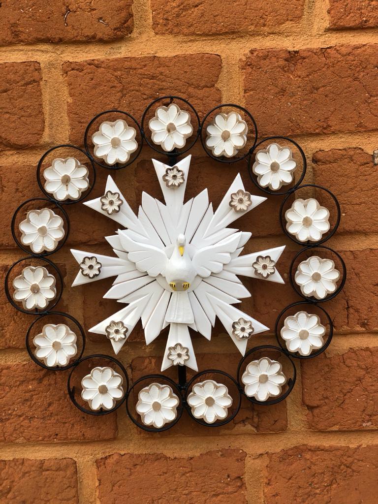 Divino luxuoso para decoração branco