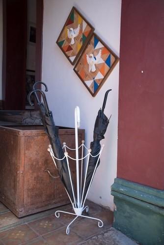 Dupla de divino espírito santo resplendor vintage rustico artesanal