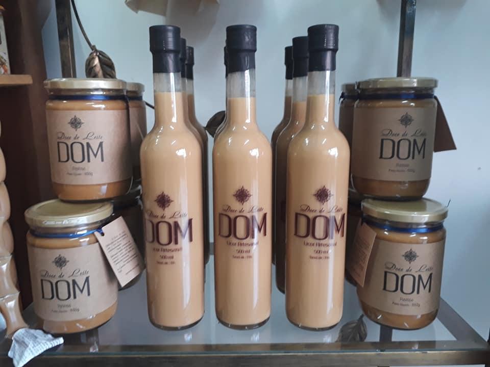 Licor de doce de leite Dom Artesanal