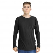 Camiseta Masculina Raglan Gola Redonda Manga Longa Lynnce