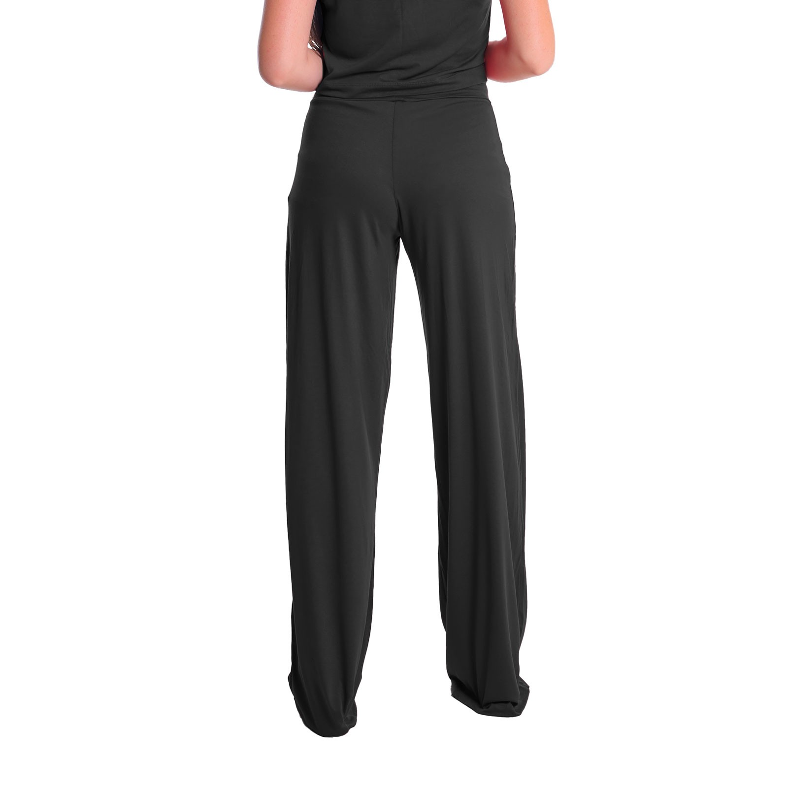 Calça Pantalona Cintura Alta Lynnce