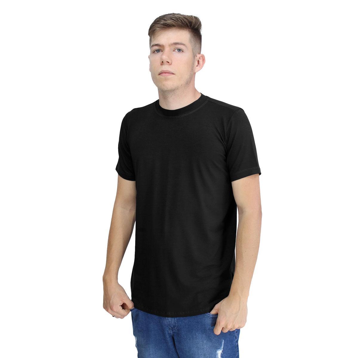 Camiseta Masculina Gola Redonda Manga Curta Lynnce