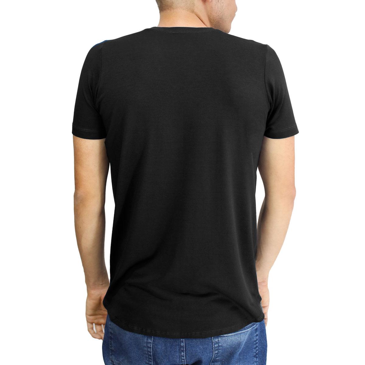 Camiseta Masculina Gola V Manga Curta Lynnce