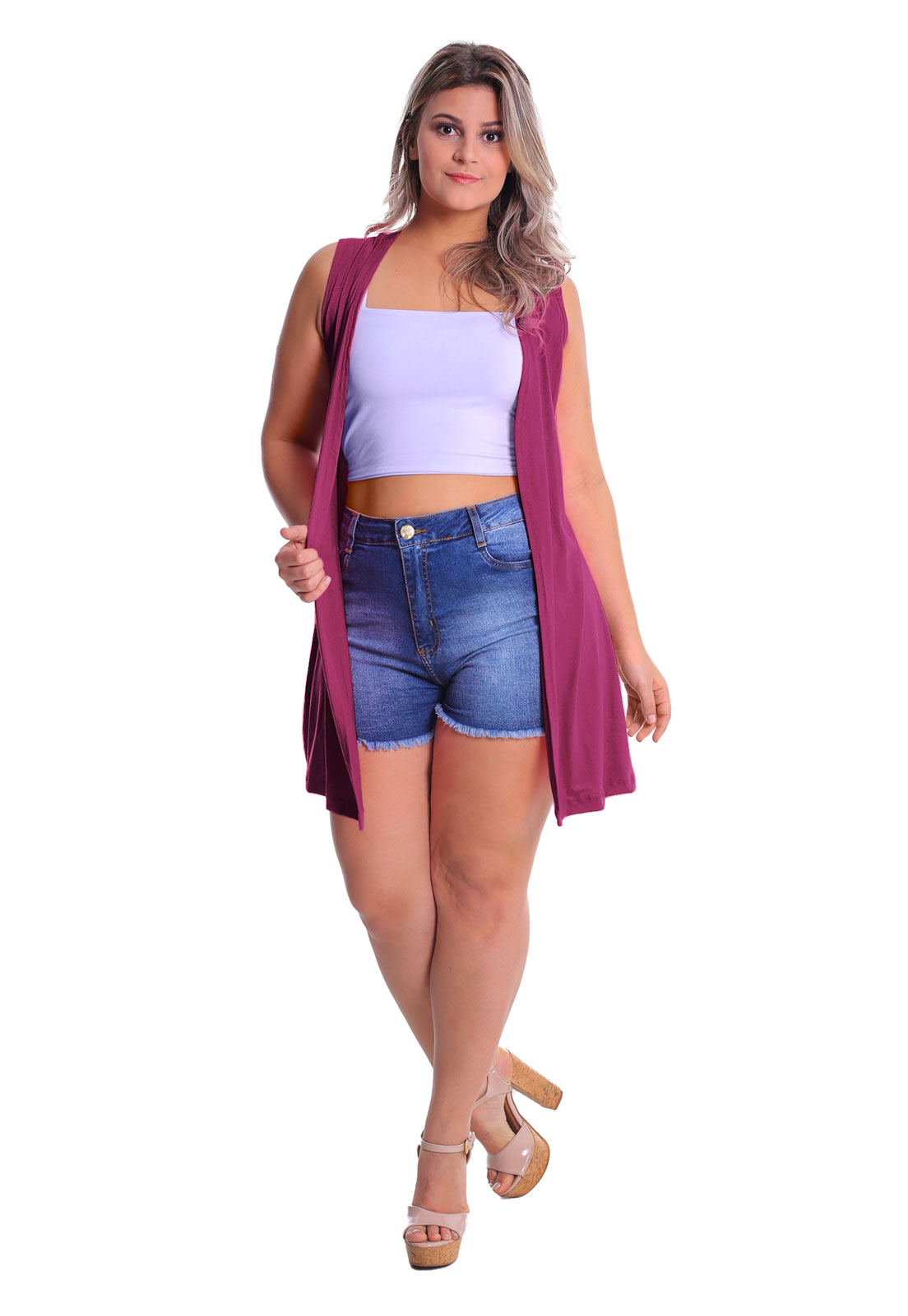 Max Colete Plus Size Lynnce