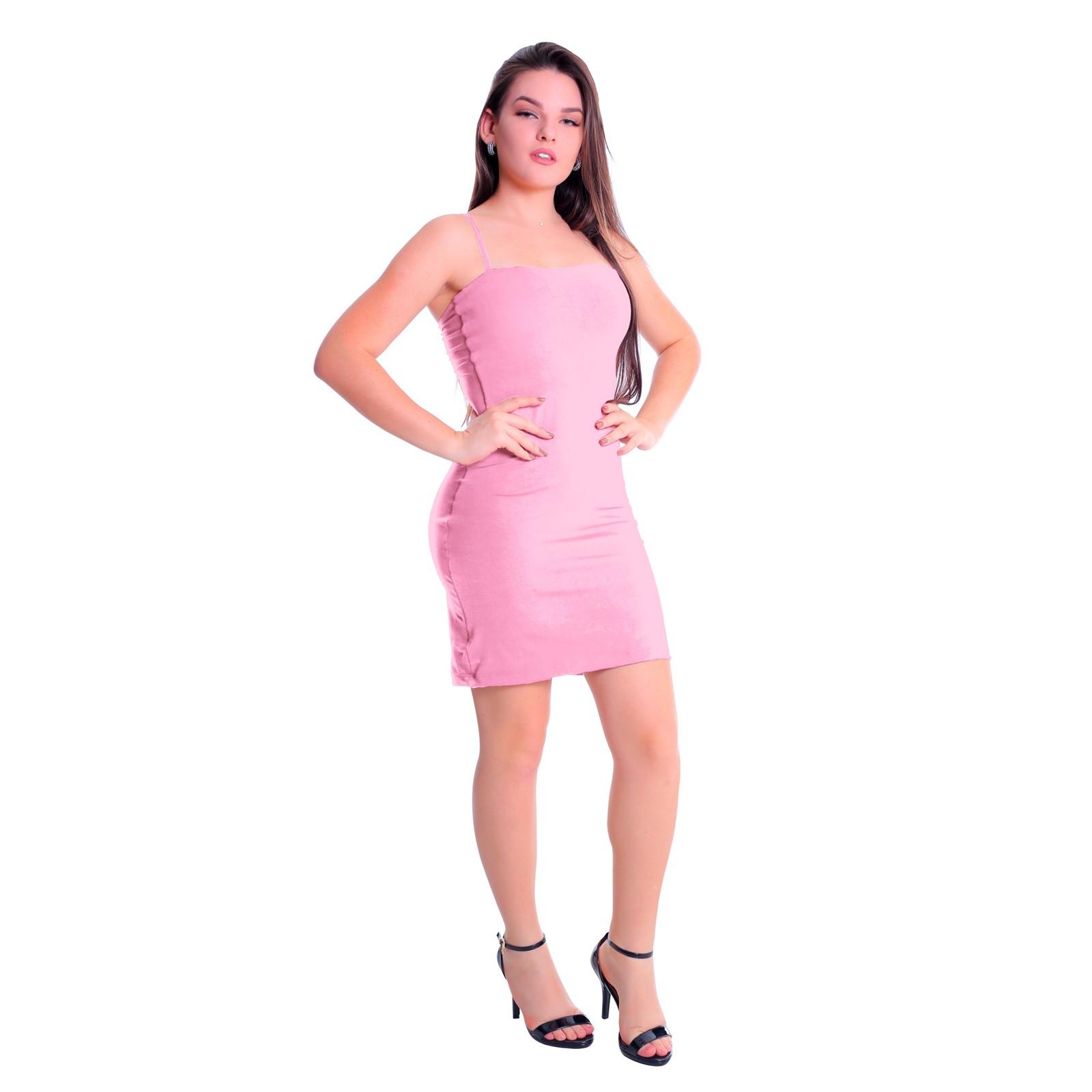 Vestido Tubinho Alcinha