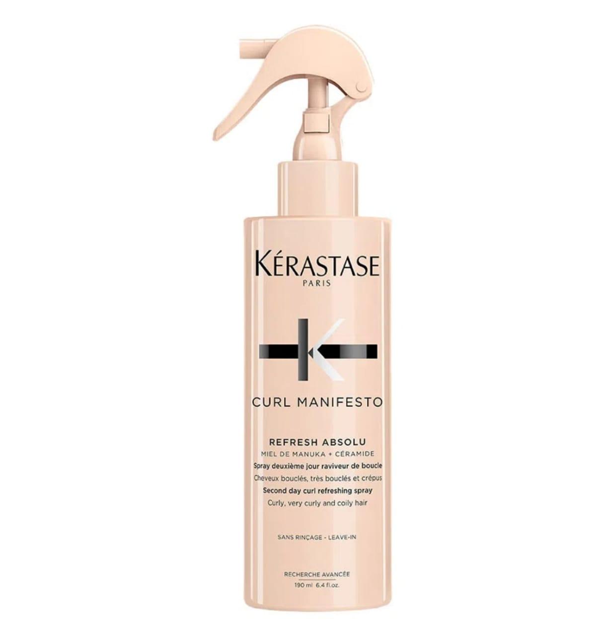Kerastase Curl Manifesto Refresh Absolu- Spray capilar 190ml