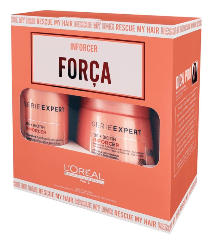 Kit L'Oréal Inforcer Força -