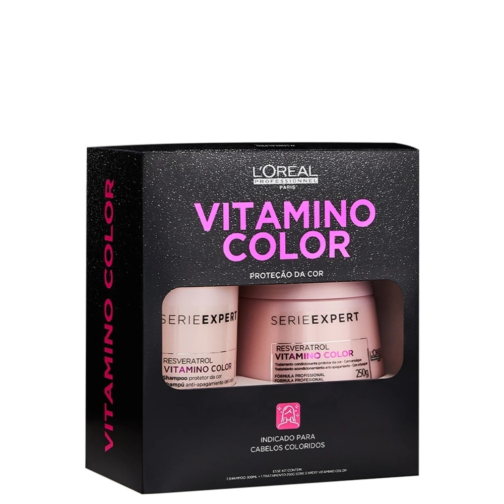 Kit Loreal Box Vitamino Color