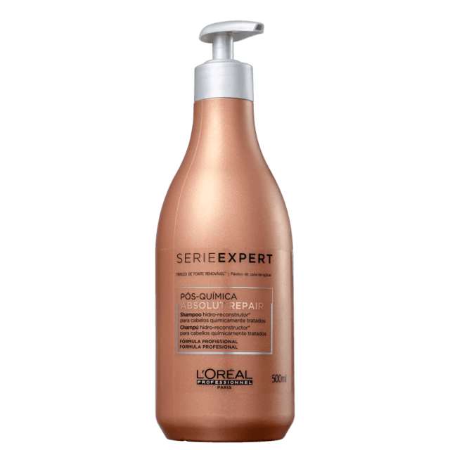 L'Oréal Professionnel Absolut Repair Pós-Química - Shampoo Multi-Reconstrutor - 500ml