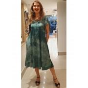 Vestido Midi Malha Tie Dye em 2 Cores