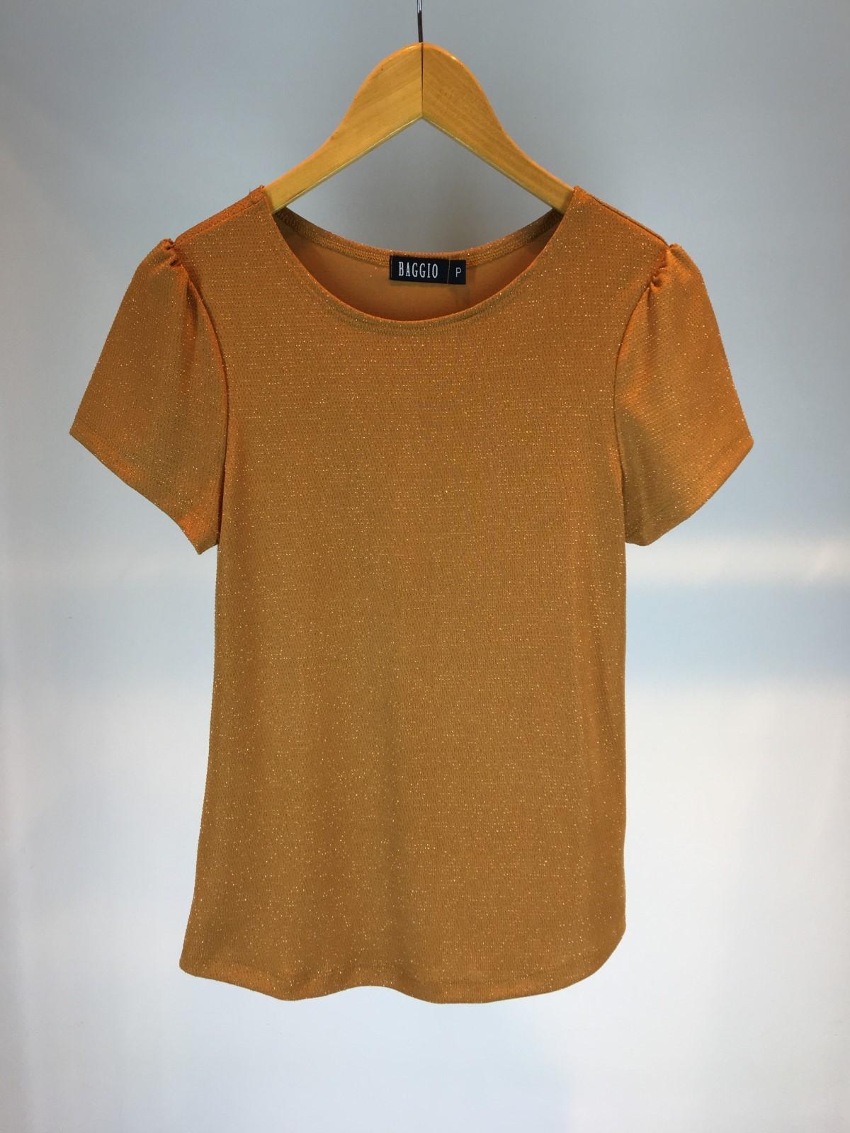 Blusa de Malha Brilho