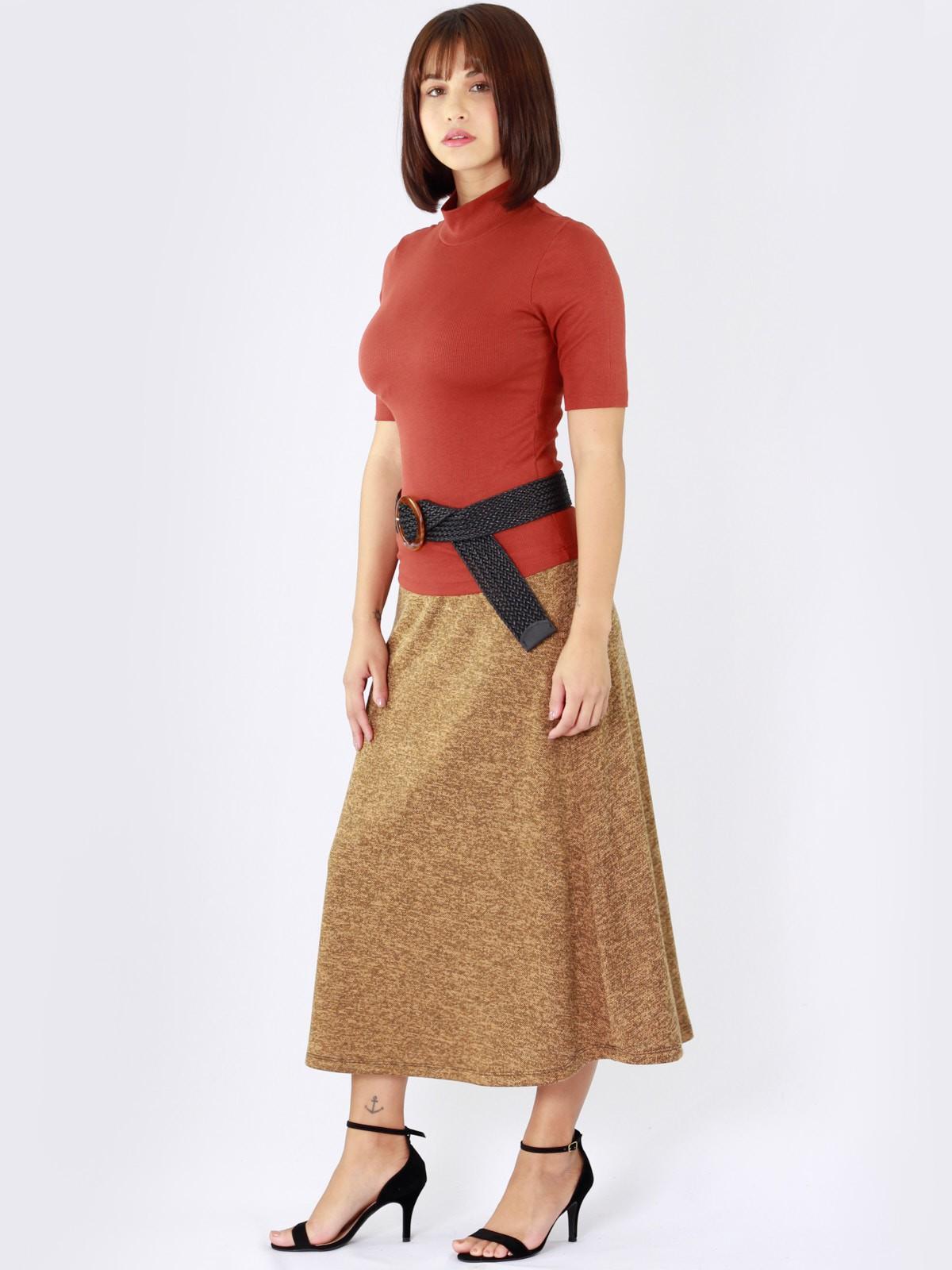 Saia Midi Tweed