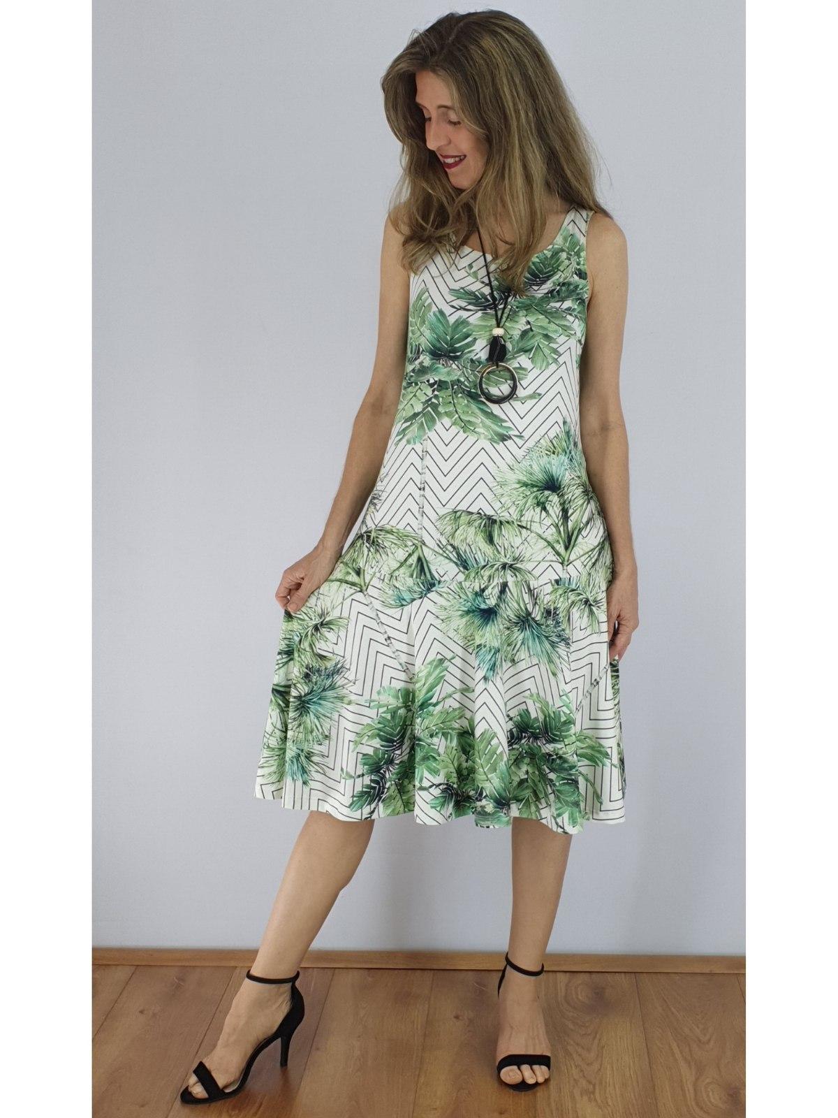 Vestido Longuete Malha Digital Estampado