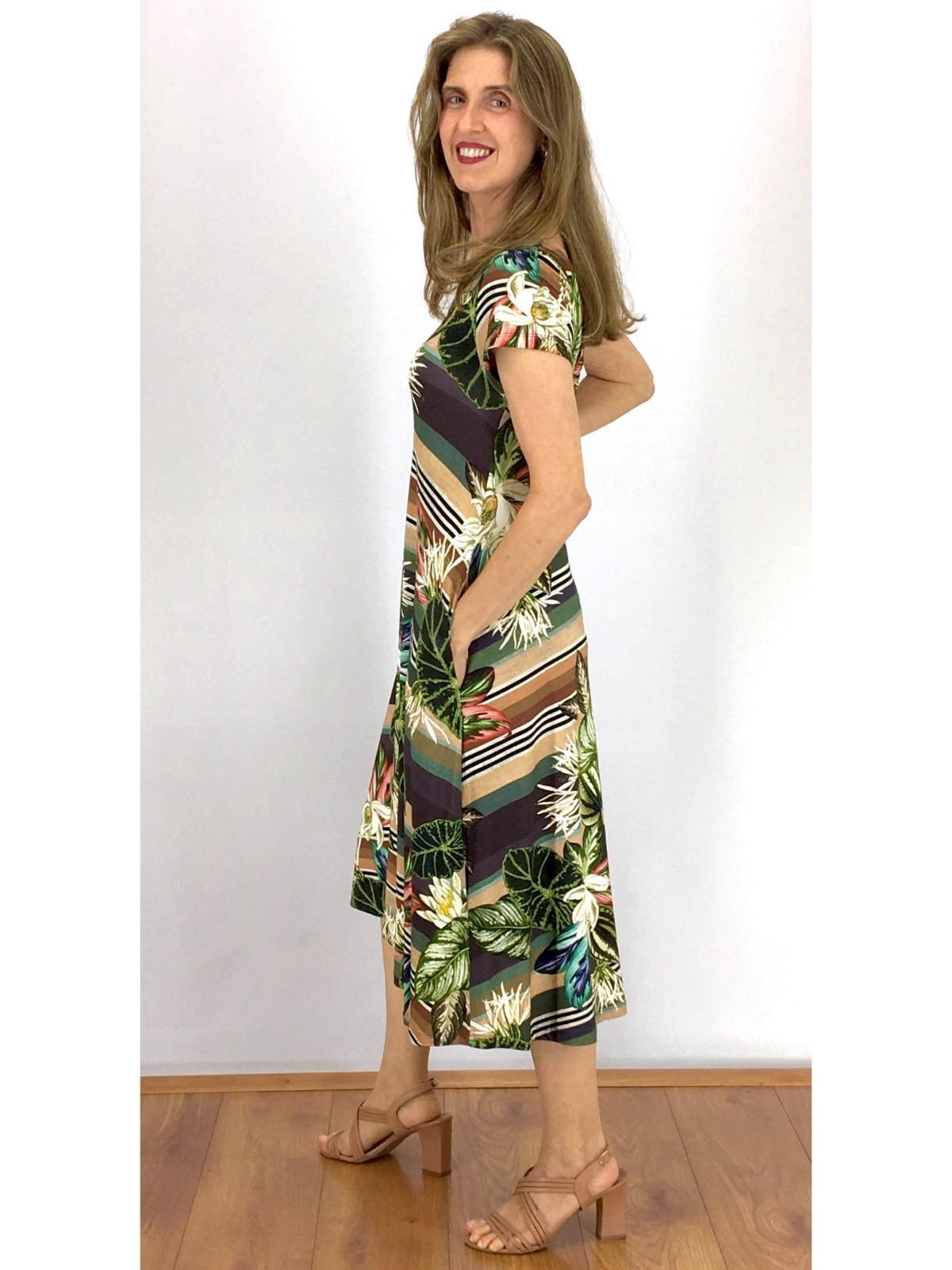 Vestido Modelagem Grande