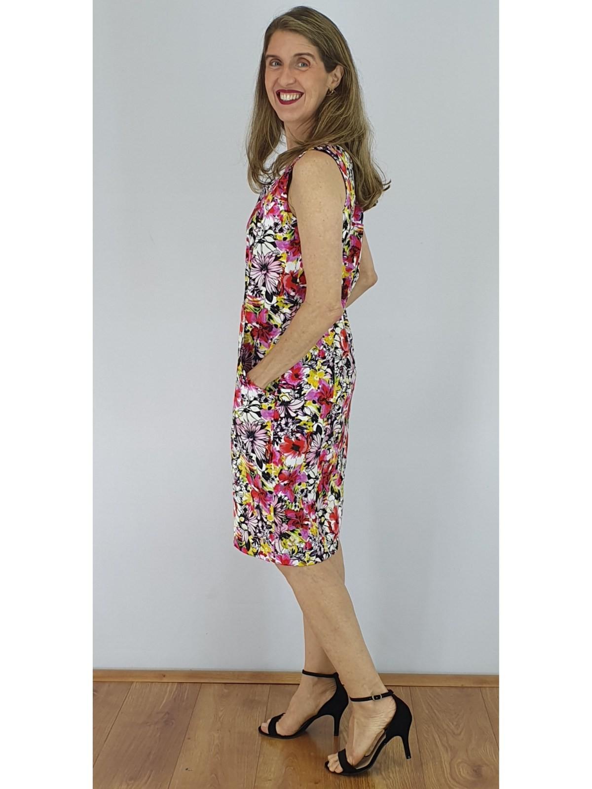 Vestido Satin Cotton Est.