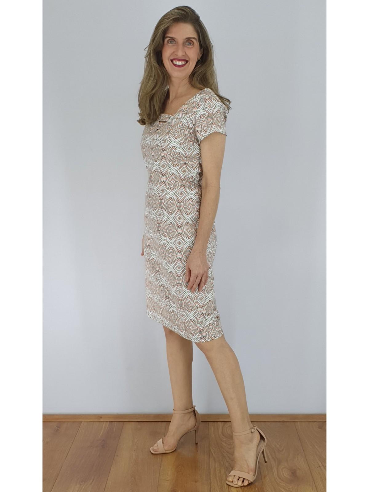 Vestido Satin Cotton Estampado em 3 Cores