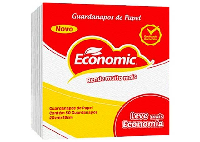 GUARDANAPO ECONOMIC 18X20 9666