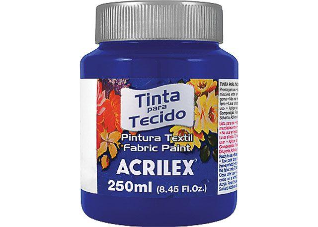 TINTA TEC ACRILEX 250ML 4125 501 AZ TURQ