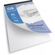 Bloco Layout A4 c/ 20 Folhas 180g/m² - CIS GRAF