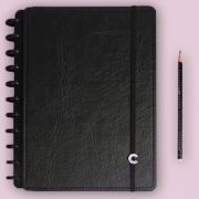 Caderno Inteligente G+ Deluxe Black Ecológico