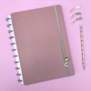 Caderno Inteligente Grande Chic Nude - 80 Folhas