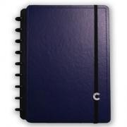 Caderno Inteligente Médio Dark Blue - 80 Folhas