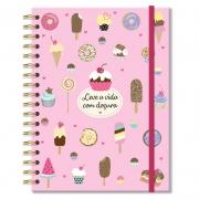 Caderno pontilhado Docinhos - Fina Ideia