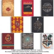 Caderno Universitário Espiral Capa Dura 01 Matéria - Harry Potter - Jandaia