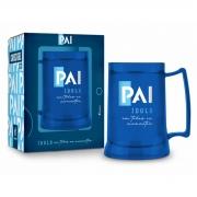 Caneca Gel Personalizada Pai 300ml - Brasfoot